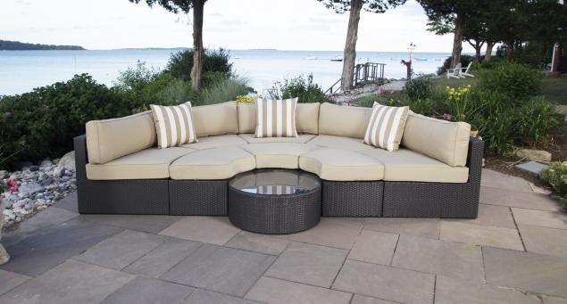 Santorini Outdoor Daybed Madbury Road Furniture Outdoor Daybed Outdoor Wicker Furniture Contemporary Patio Furniture