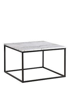 Ellos Home Svart/grå marmor Sofabord Axx Stort