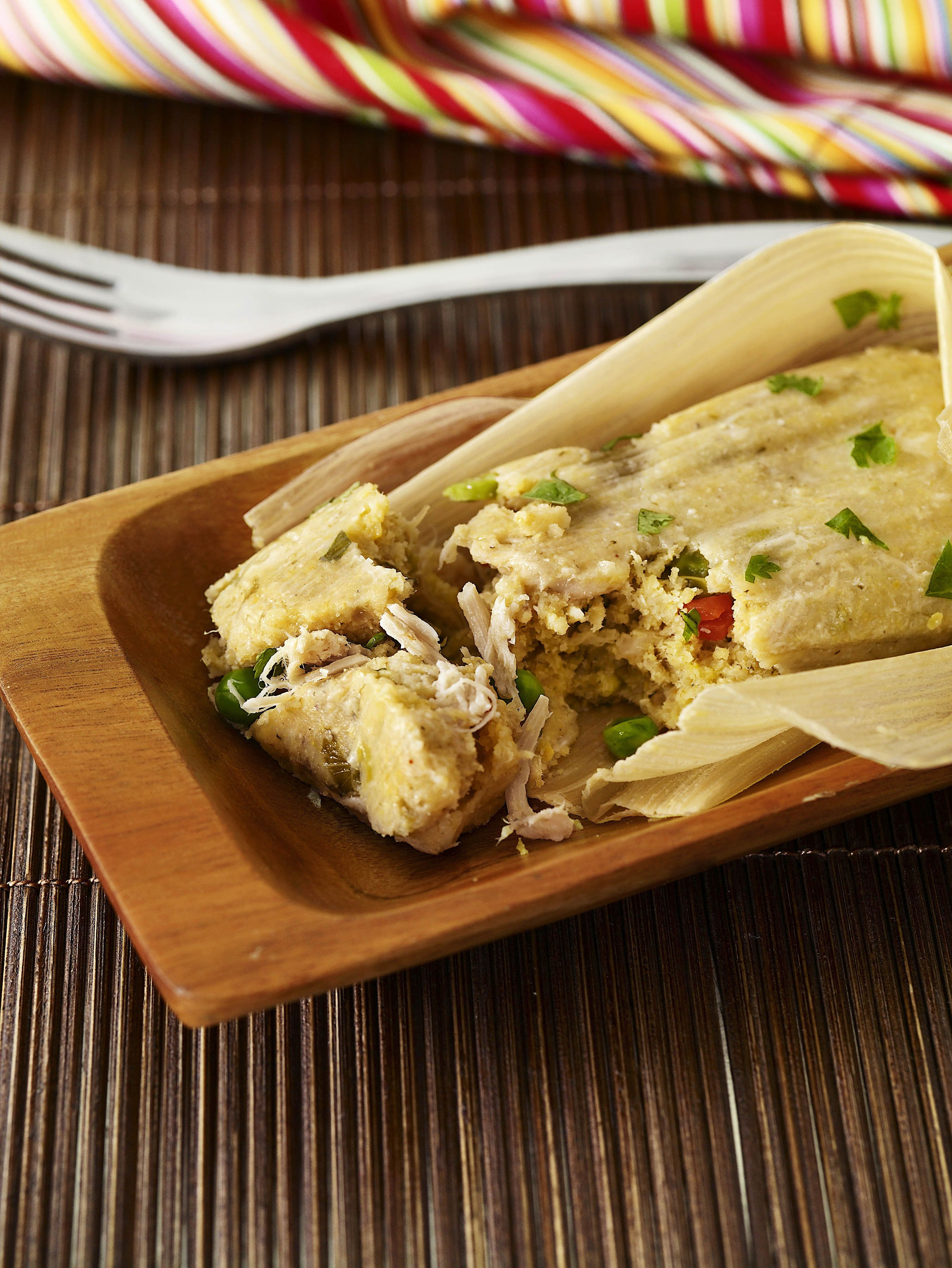 Get this all star easy to follow chicken tamales recipe from ingrid jarred green salsa and store bought rotisserie chicken to speed up prep time for her easy chicken tamales photos courtesy of food network magazine forumfinder Choice Image