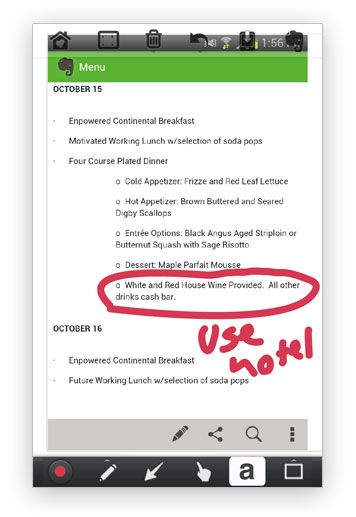 How to Use Evernote for Event Planning Tips from Event Planning - sample event checklist template