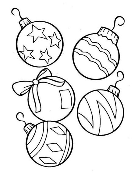Print Coloring Page And Book Christmas Tree Ornaments Coloring Pag Christmas Tree Coloring Page Printable Christmas Ornaments Christmas Ornament Coloring Page