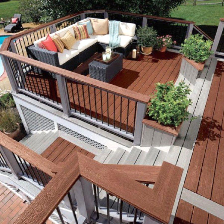 Awesome Diy Raised Deck Projects You Can Do Yourself For Your Yard 600x800 Format Designs No Porches De Casas Diseno De Terraza Exteriores De Casas Modernas