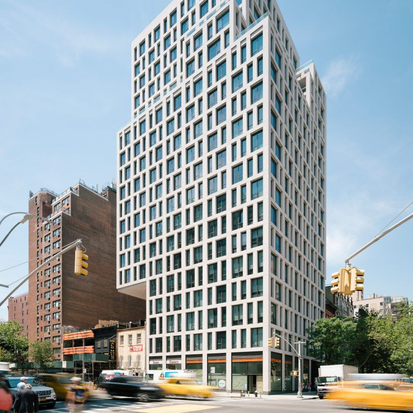 Luxury Manhattan Apartment Tower By S9 Architecture Cantilevers