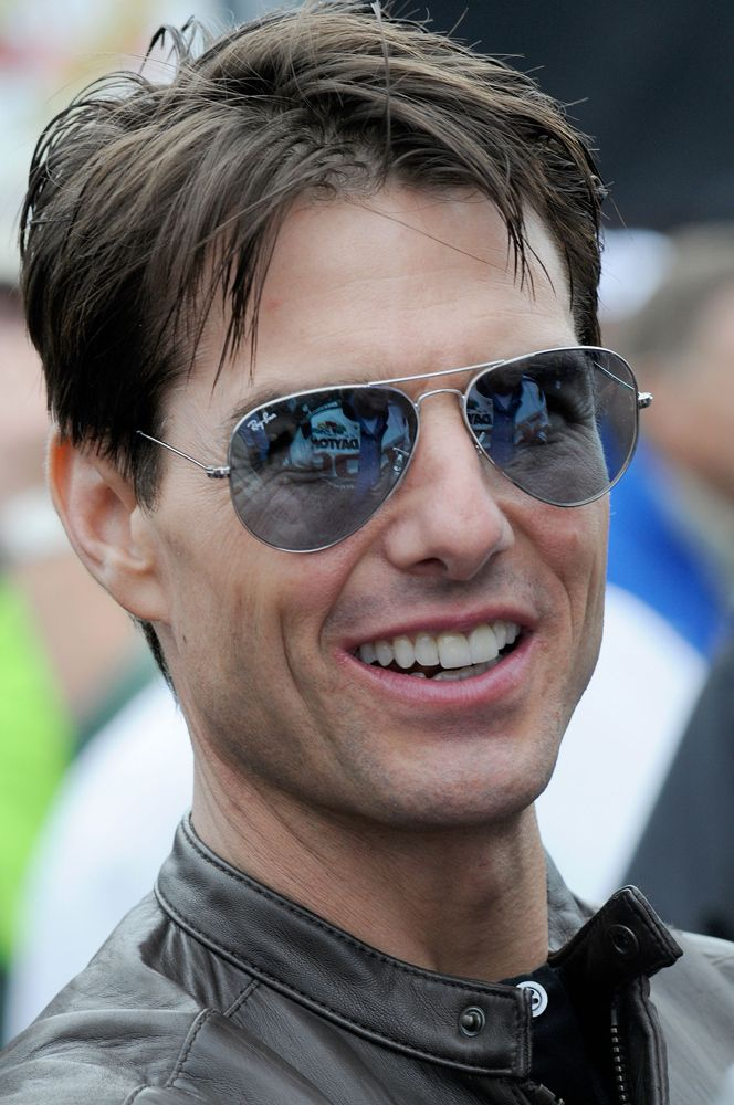 60200441673b Tom Cruise wears Ray-Ban Aviator (RB-3025) | Men's fashion in 2019 ...