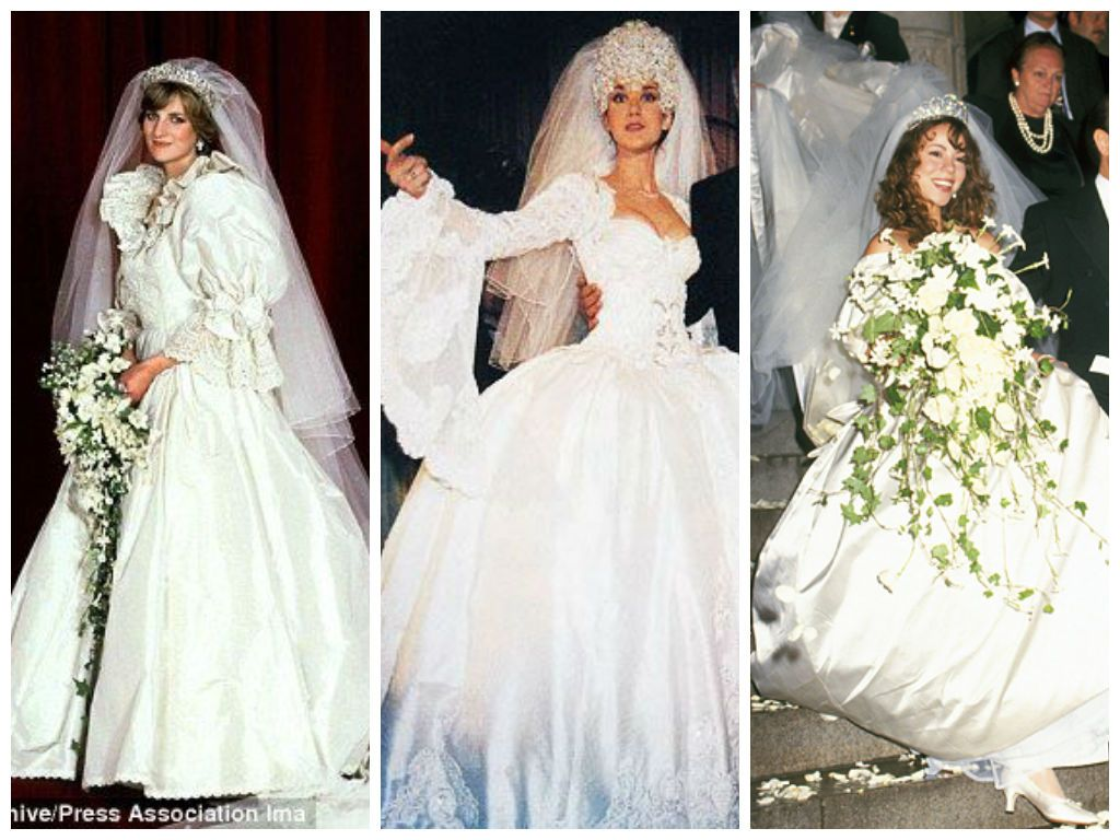 Princess Diana In Celine Dion Mariah Carey