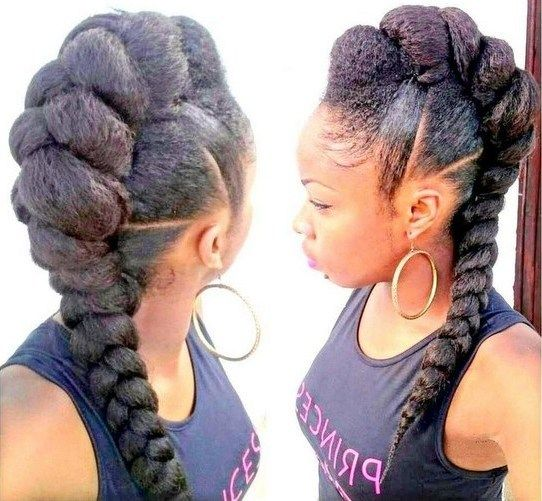 Mohawk Hairstyles For Black Women Things To Wear Pinterest
