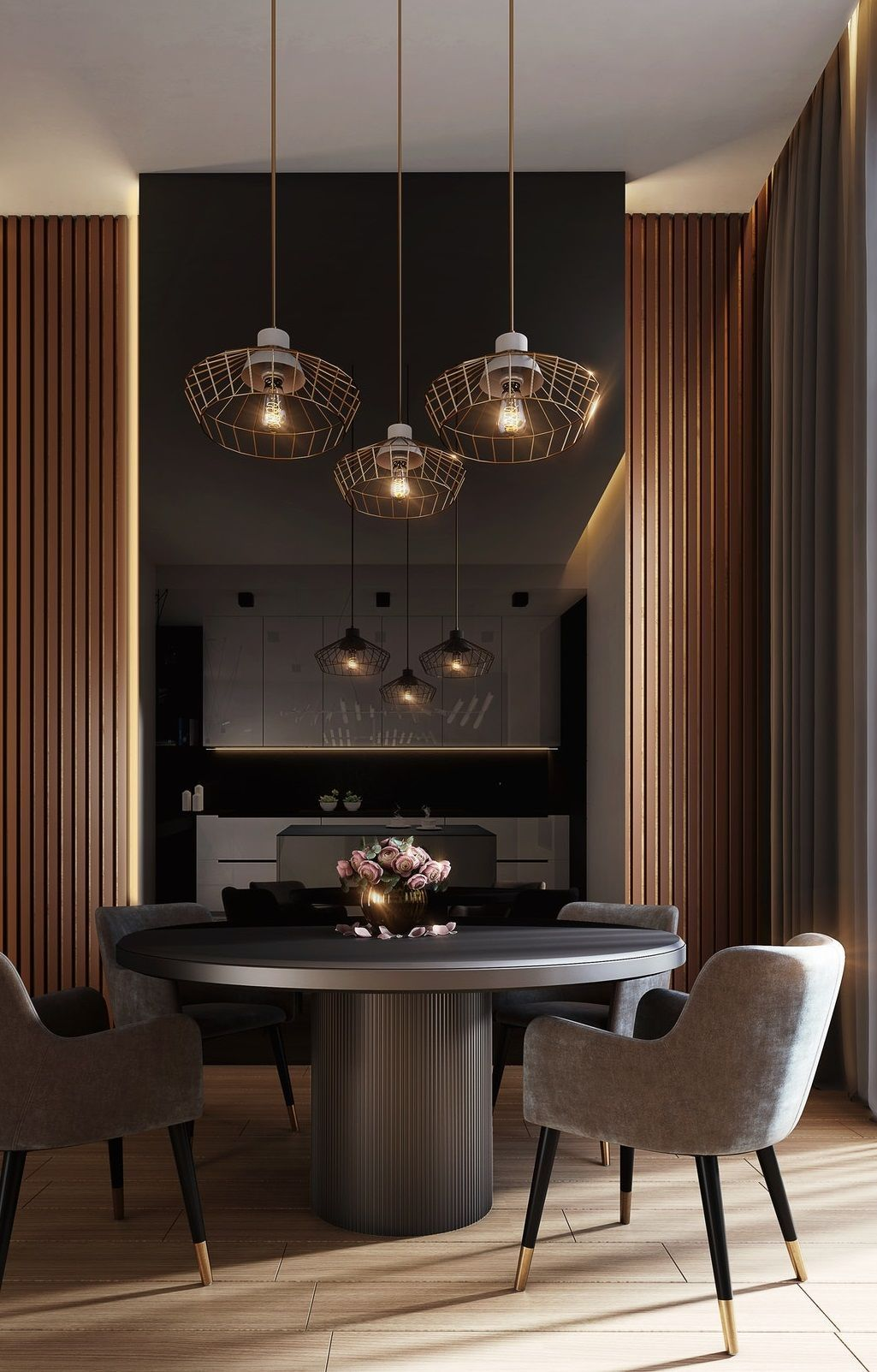 5 Dining Room Designs To Inspire You To Remodel Your Home Grey Dining Tables Home Interior Design House Interior