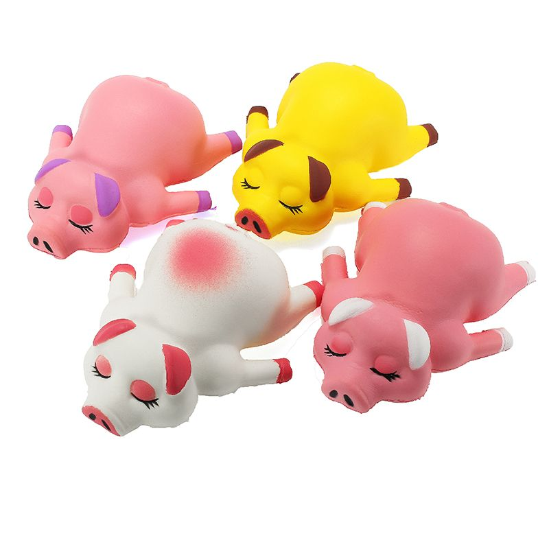 Squishy Pig Piggy 13cm Soft Slow Rising Animals Cartoon Collection Gift Decor To