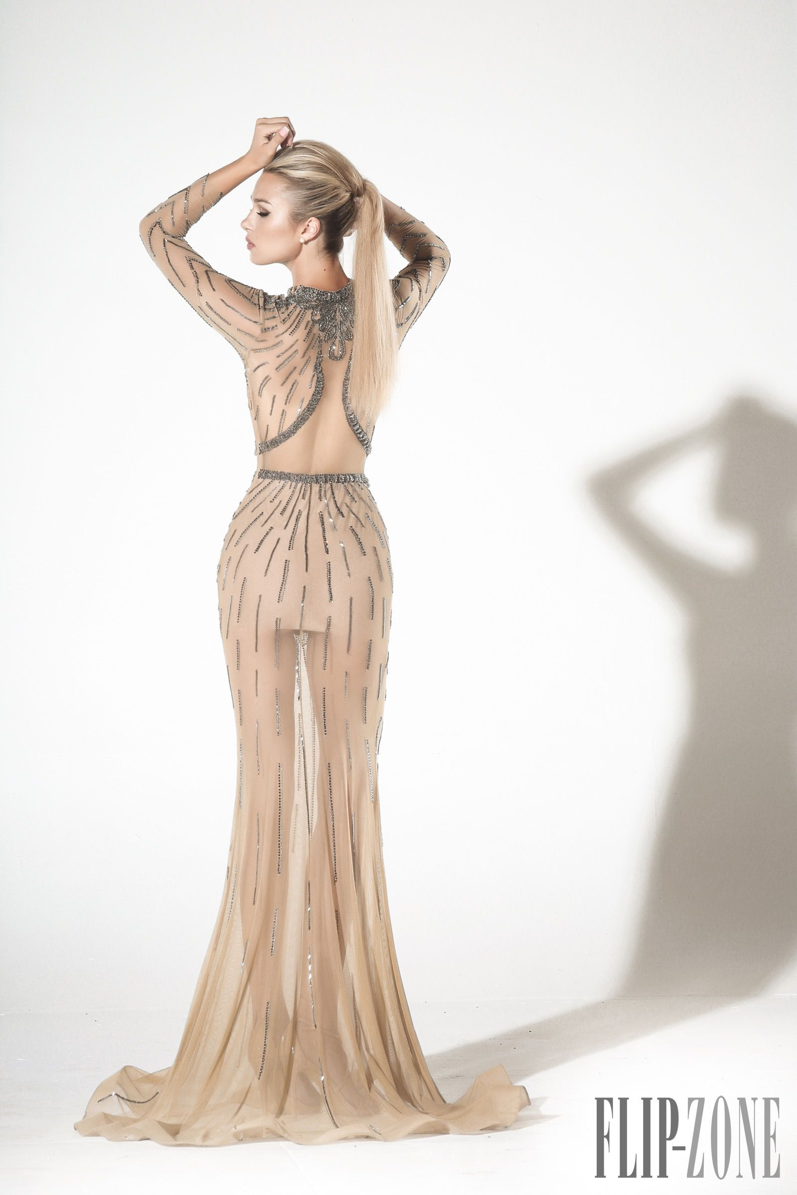 Charbel zoé springsummer couture in the clothes