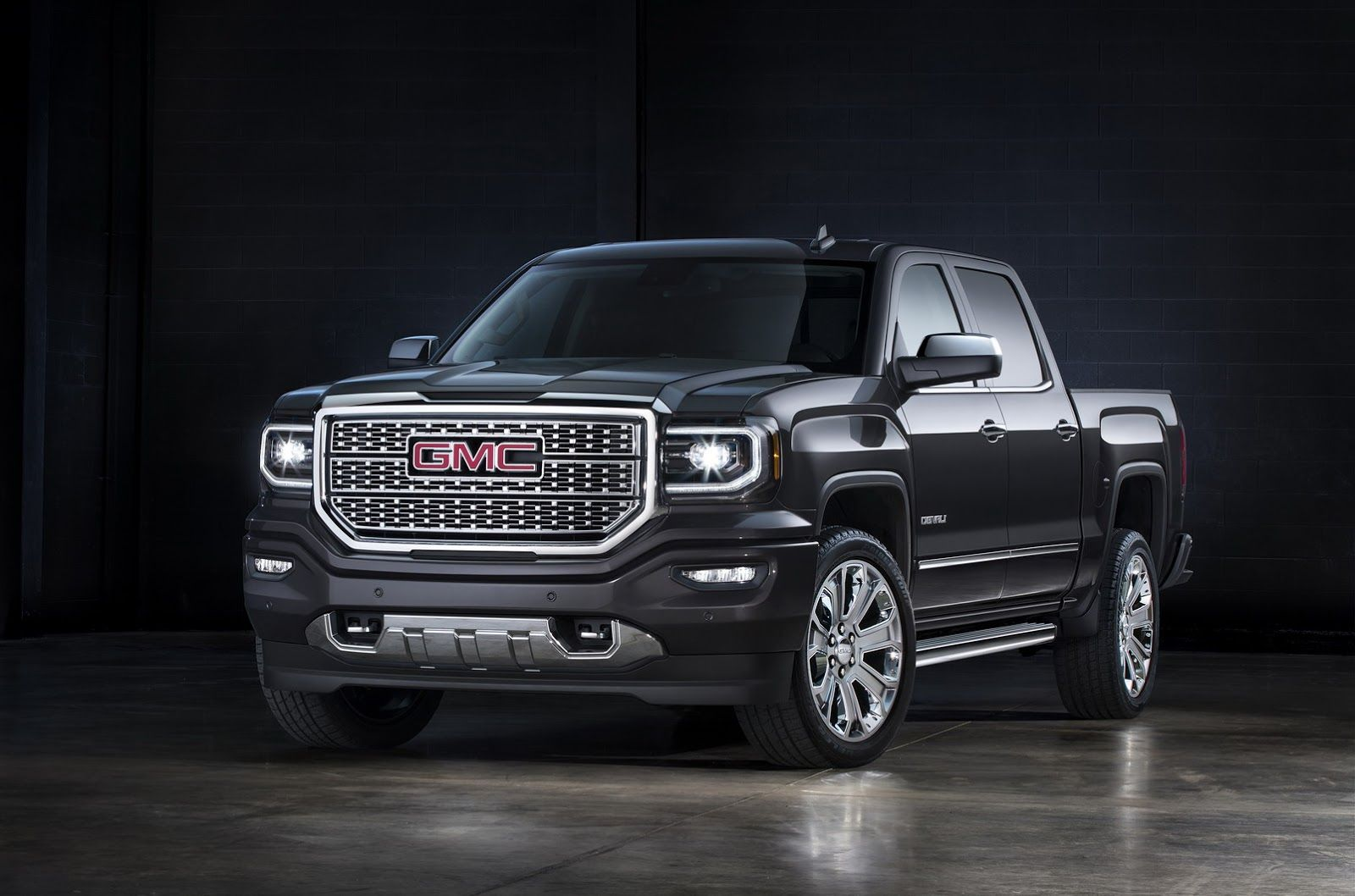 Gmc Doubles Up On 2016 Sierra Denali With Ultimate Edition Carscoops Gmc Sierra Denali Sierra Denali Gmc Sierra