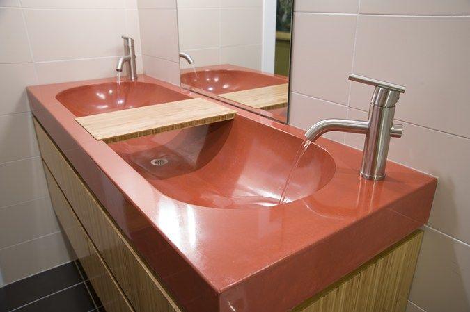 Bathroom Sinks Charlotte Nc concrete trough basin sink concrete sinks reaching quiet charlotte