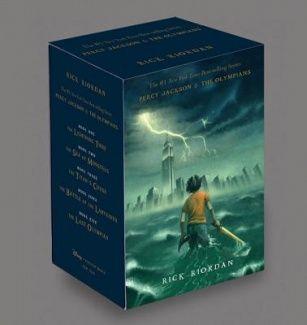 Percy Jackson & the Olympians Boxed Set (HARDCOVER) English.