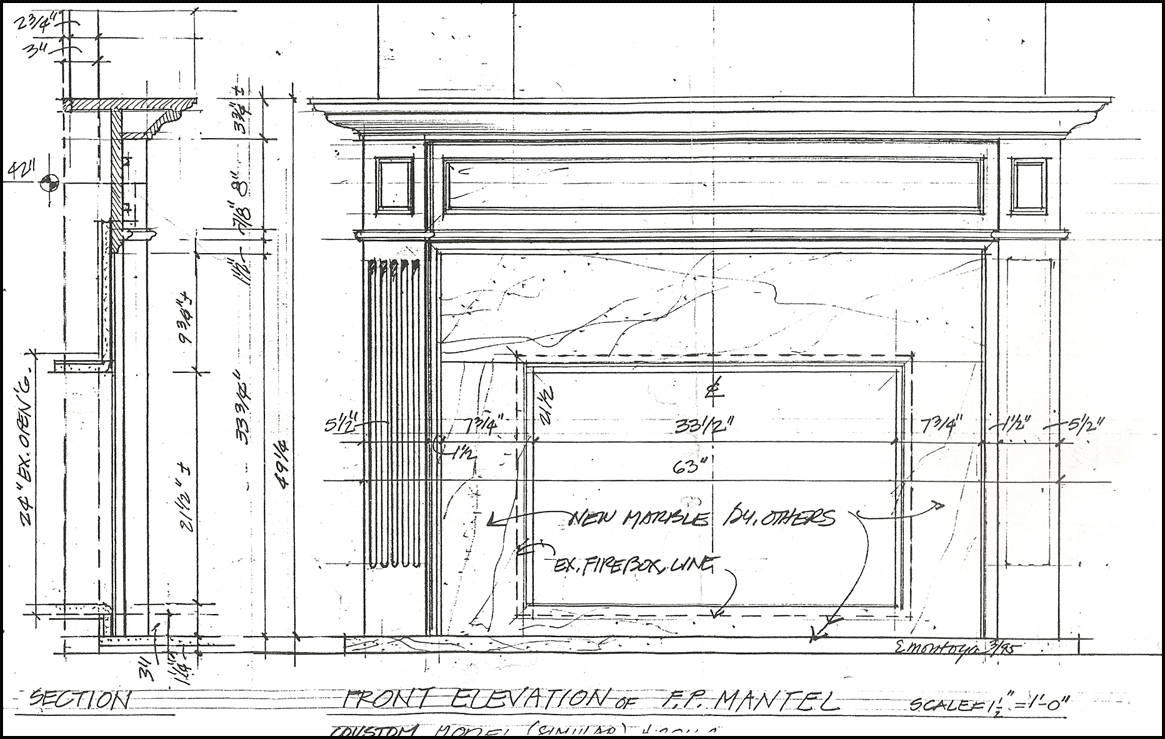 Fireplace Mantels Designs Plans Newport Mantels Panel Company