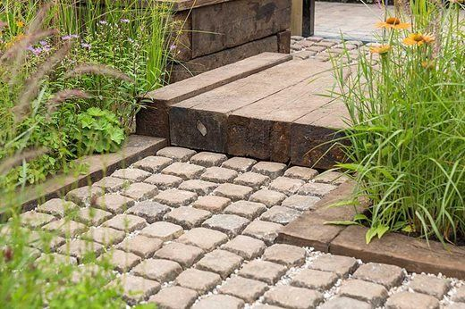 Design ideas for small gardens at the RHS Hampton Court ...