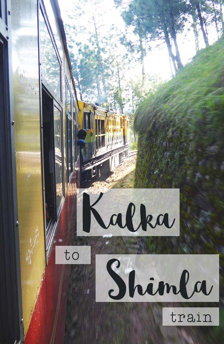 We really thought we could just show up to Kalka train station and catch a train to Shimla. Read all about how wrong we were and how it turned out perfectly.