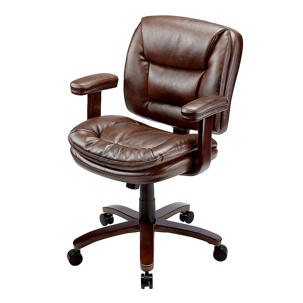 StyleWork By Thomasville Elmhart Bonded Leather Executive