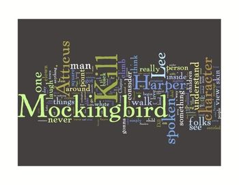 """FREE for a limited time: """"To Kill a Mockingbird"""" Inspired Classroom Art Literature Prints"""