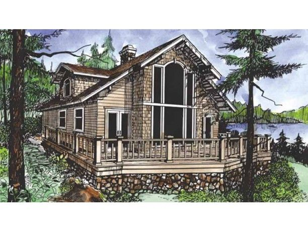 Home Plans With Open Floor Plan And Very Large Windows Google Search House Plans Lake House Plans New House Plans