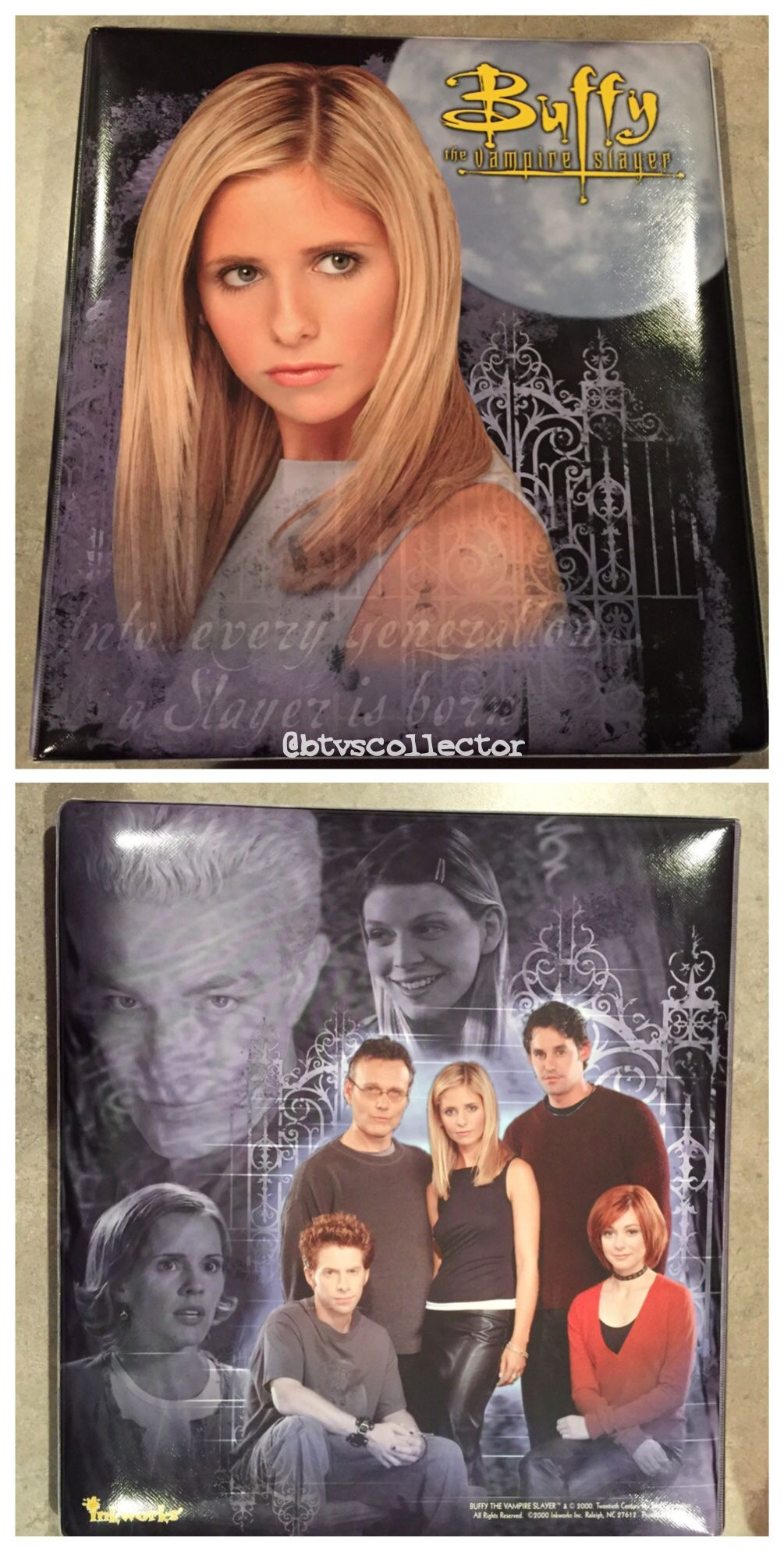 Buffy The Vampire Slayer Palz Exclusive Trading Card #15 Spike