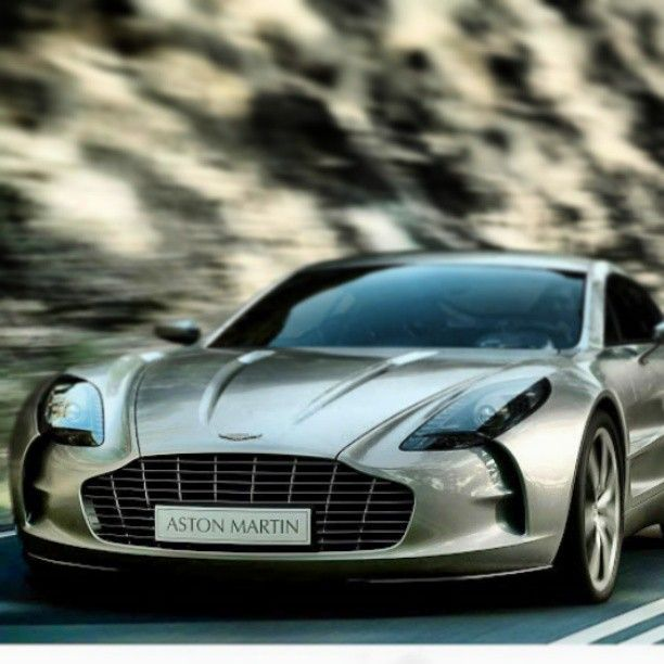 Aston Martin One-77 means serious business