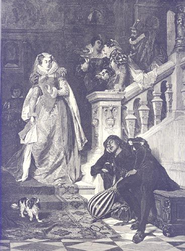 Mary Stuart S First Meeting With Rizzio Harper S Weekly 1875 Black White Original Wood Engraving Americ Mary Queen Of Scots Tudor History Mary Stuart