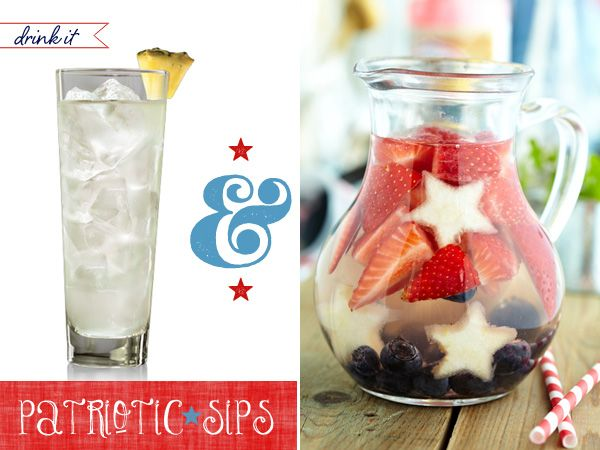 4th of july party ideas food drinks diy decor the for 4th of july cocktail party recipes