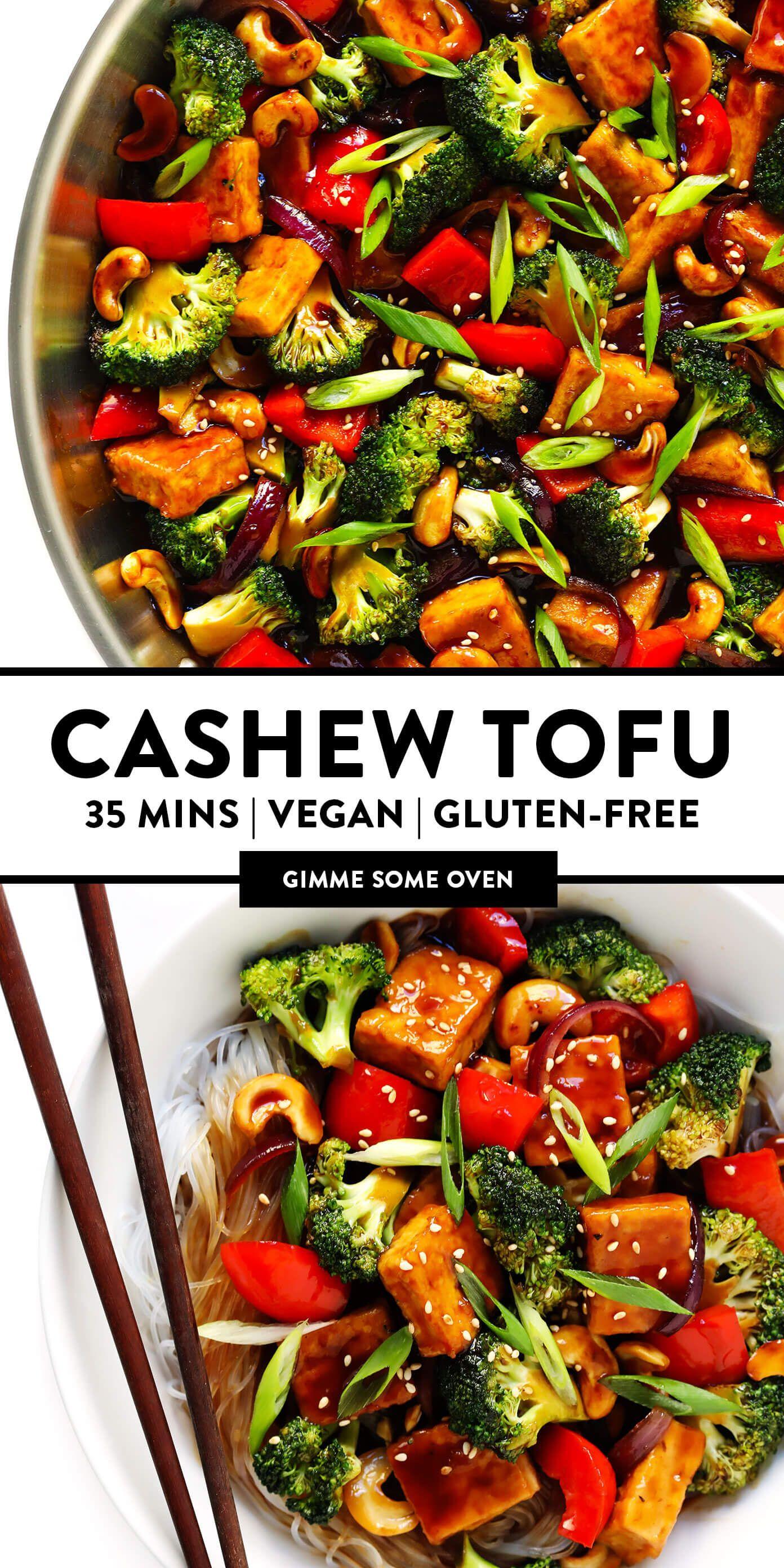 Cashew Tofu Recipe | Gimme Some Oven