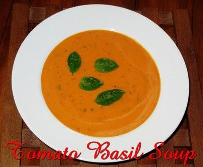 Fresh Tomato Basil Soup http://www.momspantrykitchen.com/fresh-tomato-basil-soup.html