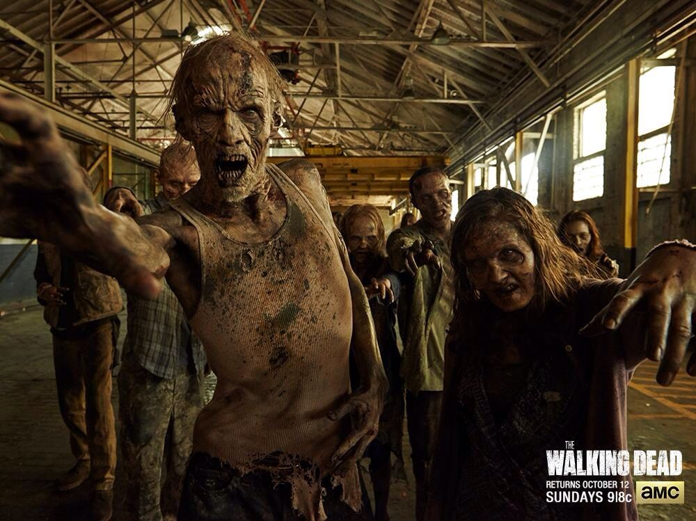 Why is the walking dead so cool