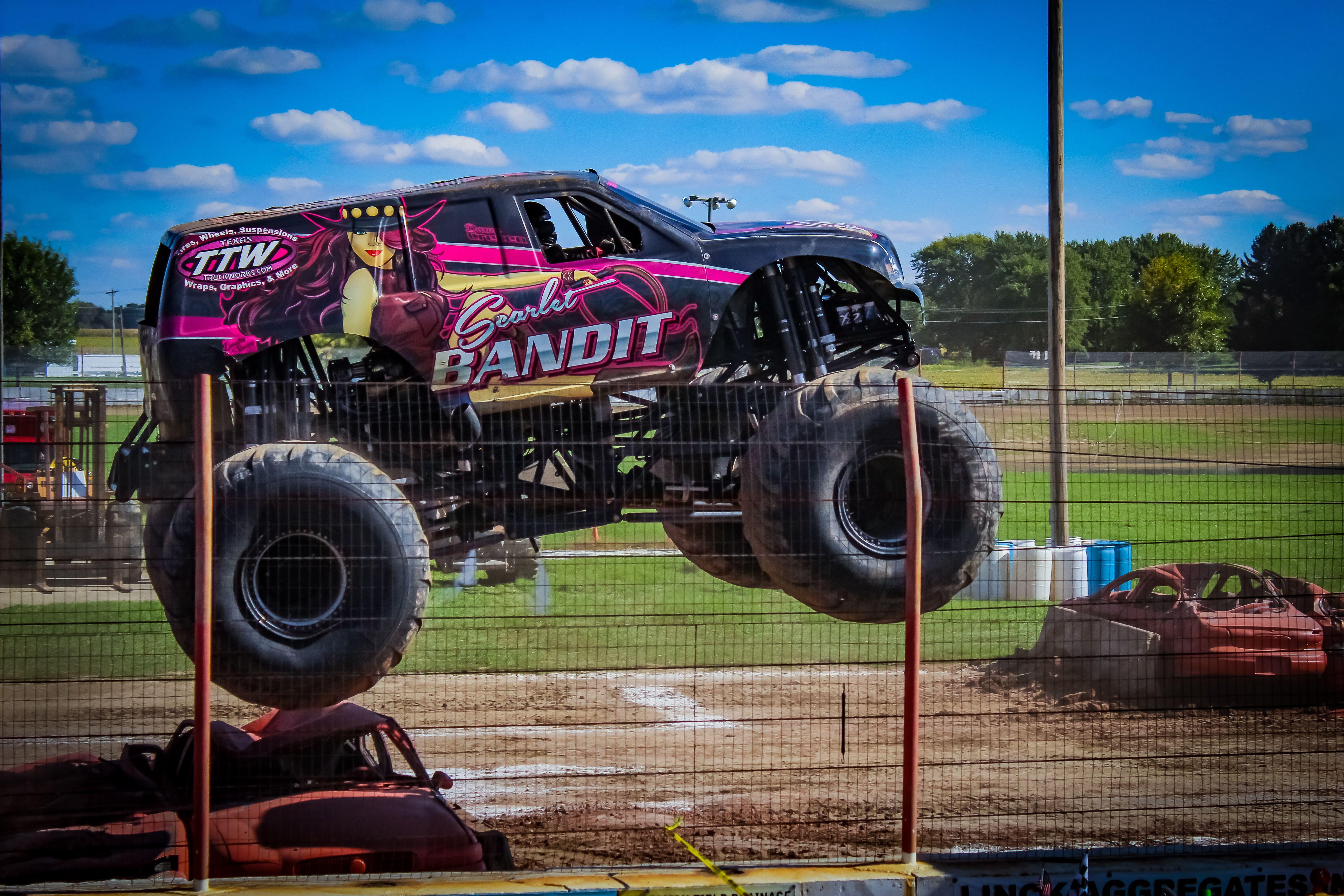 Scarlet Bandit Monster Trucks Bandit Scarlet