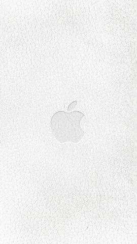 White Leather Apple iPhone Hd Wallpaper