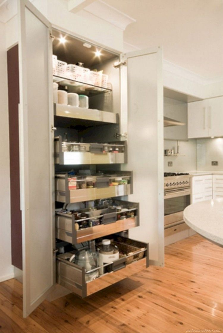 60 creative space saving kitchen pantry ideas space on creative space saving cabinets and storage ideas id=55495