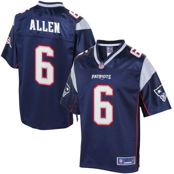 separation shoes 1fd3e 1b0c5 Ezekiel Elliott jersey Men's New England Patriots Ryan Allen ...