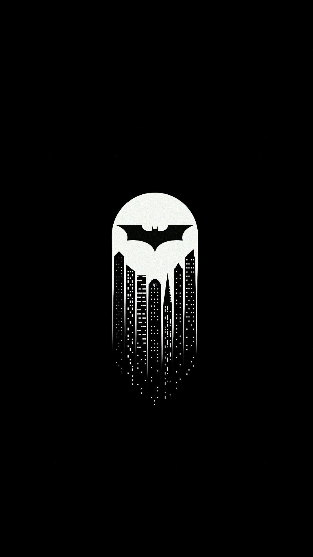 Gotham City iPhone Wallpaper | комиксы | Batman wallpaper ... Бэтмен Против Супермена Обои