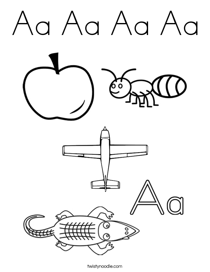 letter Aa tracing pages - Google Search | Preschool | Teaching kids ...