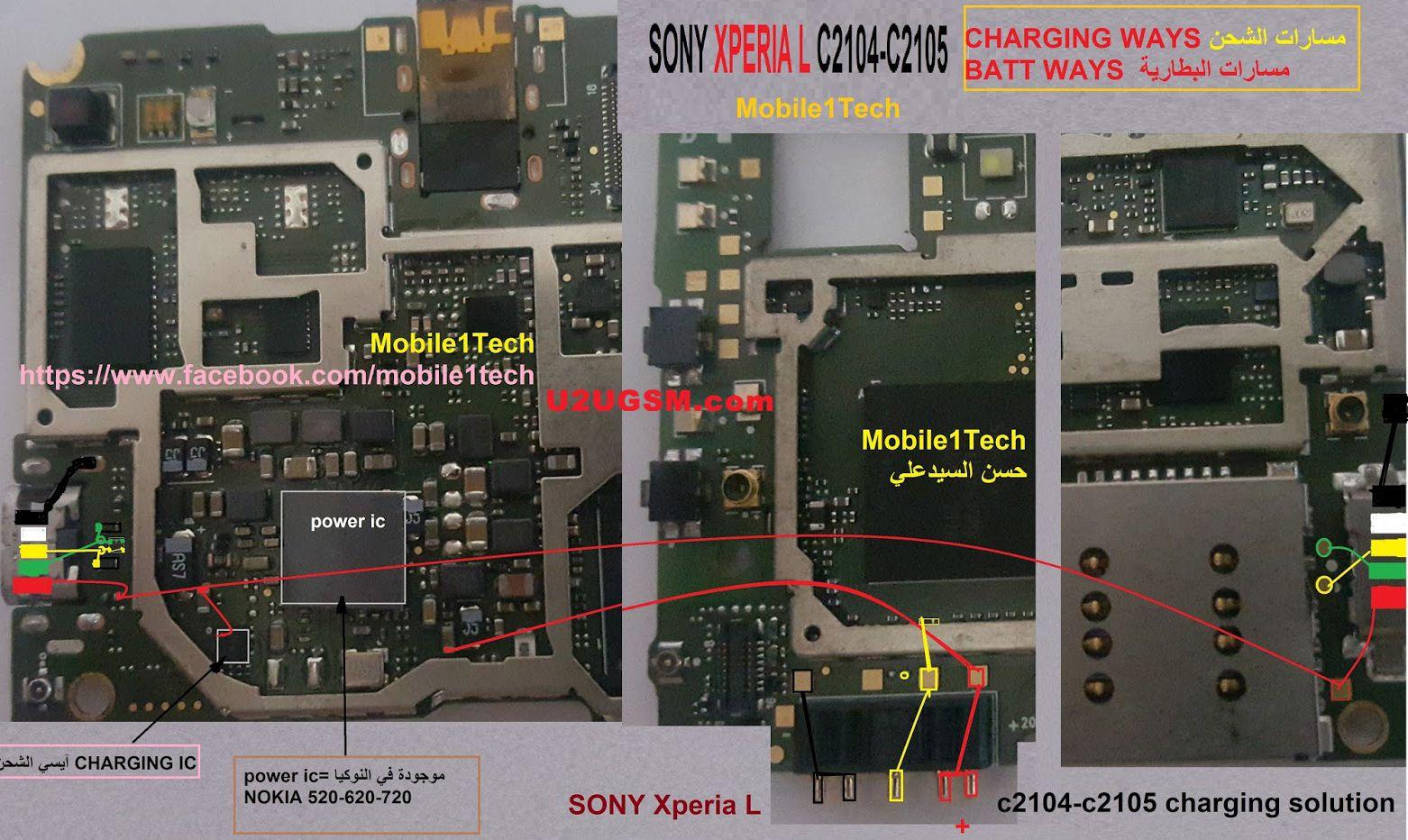 Sony Xperia Neo L Circuit Diagram - Wiring Diagram List on