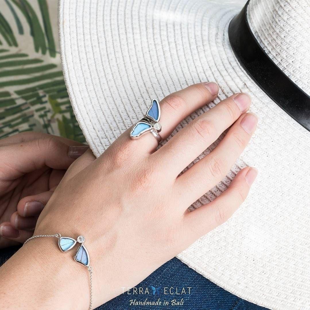 Did You Shop For Summers Saharamall Alandalusmall Ranyahseraj Realbutterflywingjewellery Terraeclat Unique Gemstones Real Butterfly Wings Jewelry Art