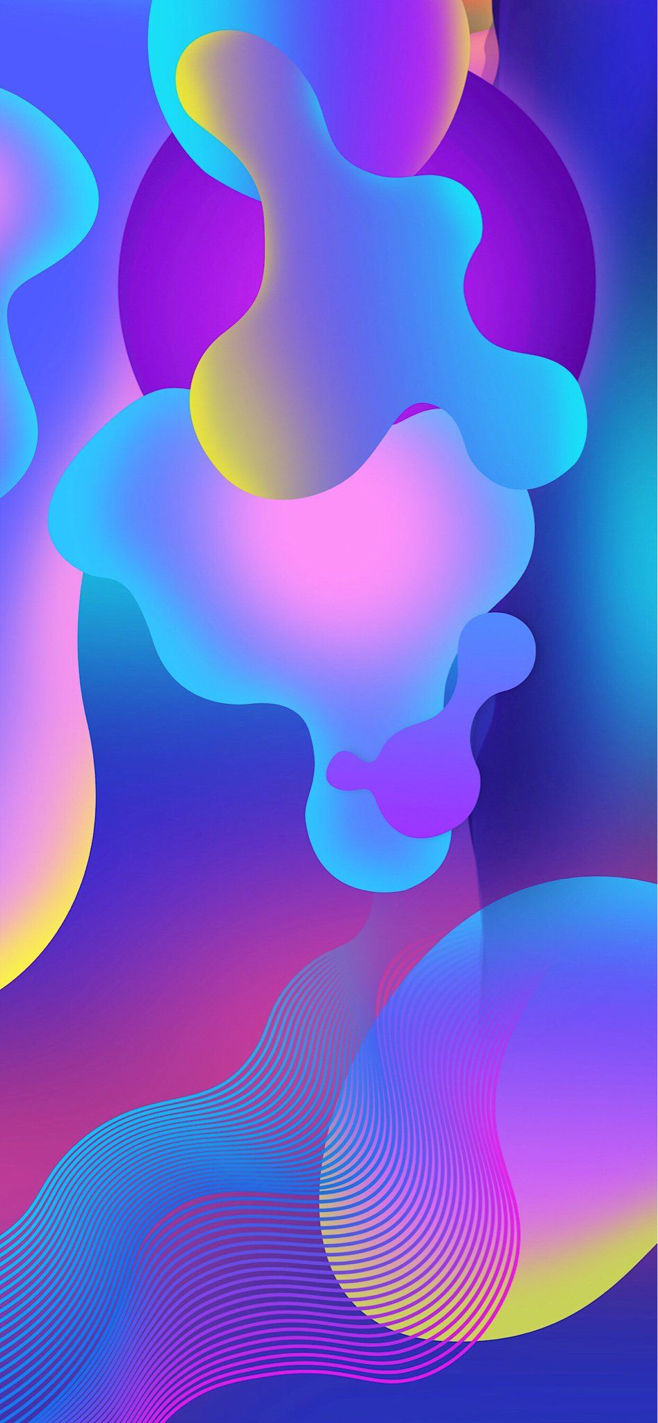 Iphone Xs Max Wallpaper Solid Blurred Colors In 2019 Iphone