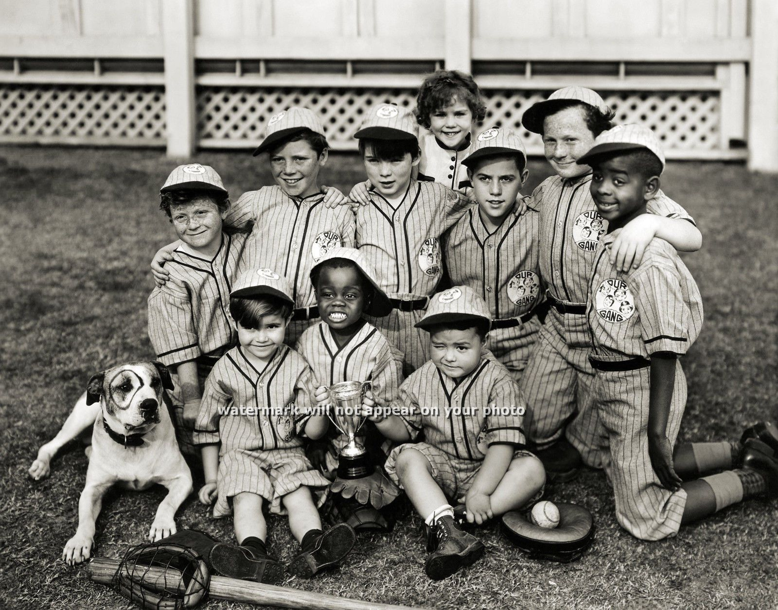 """New 8x10 Photo: """"Our Gang"""", The Little Rascals - Alfalfa ..."""