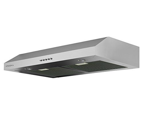 Ancona Cocinas | Ancona An 1260r Slim Plus Under Cabinet Range Hood In Stainless