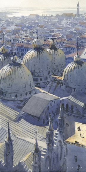 Michael Readon, The Domes of San Marco 20\