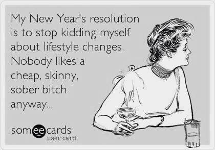 New Years Resolution Sarcastic Funnies Funny Hilarious Humor