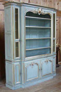 Bibliothèque style Louis XV