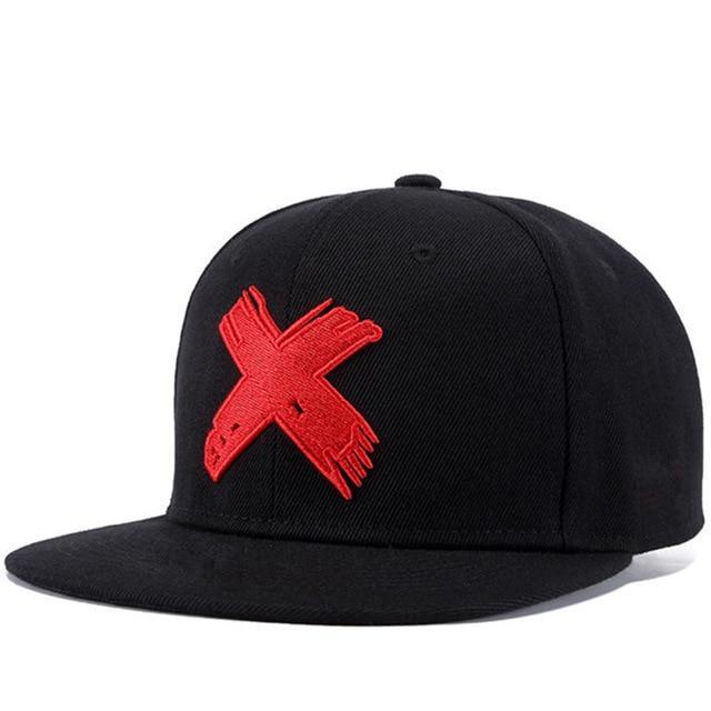 SNP snapback Hip Hop Cap Men Women Baseball Cap Men Women Summer Casual  Embroidery X Snapback hats Male Bone Adult Hip Hop Cap nel 2019  b9e8e1b3404d