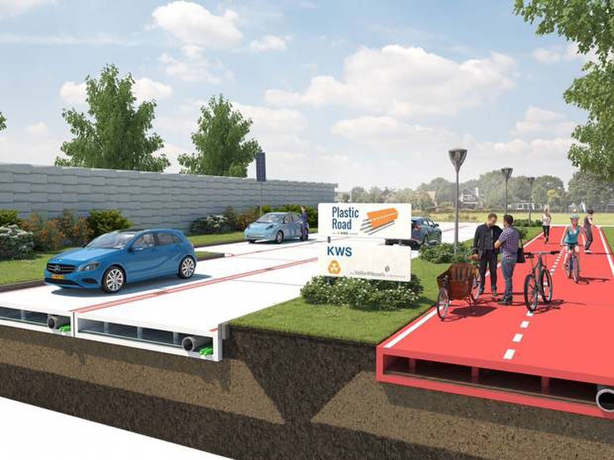 Can Plastic Pave The Way to Greener Global Infrastructure?