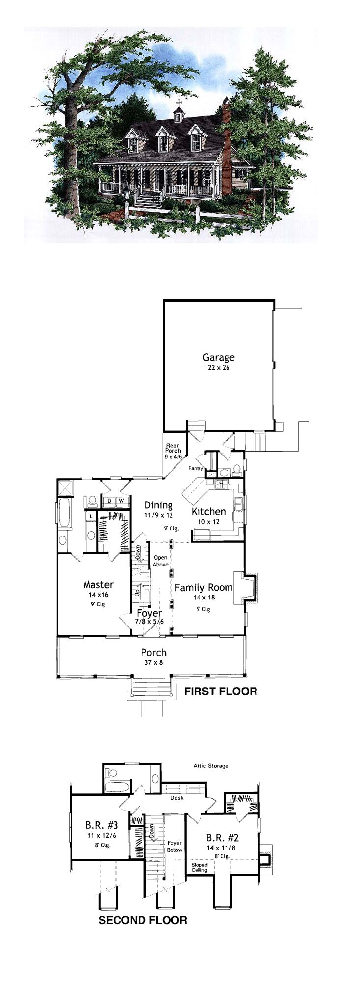 cape cod country house plan 93452 bedrooms house and garage design cape cod house plan 93452 total living area 1815 sq ft