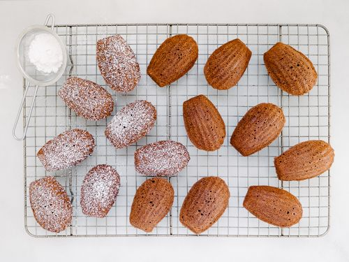 My Blueberry Sky | sweetoothgirl:   HOT COCOA MADELEINES