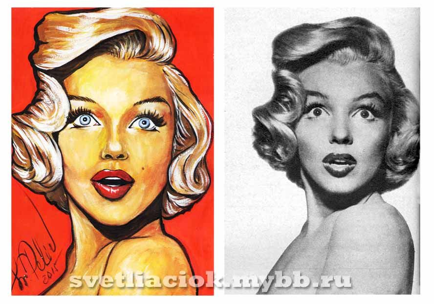 Marilyn Monroe by Svetlana Pelin (svetliaciok) #marilyn #marilynmonroe #painting #art #marilynmonroeart #beautiful #мэрилин #мэрилинмонро #рисунок #svetlanapelin #svetliaciok