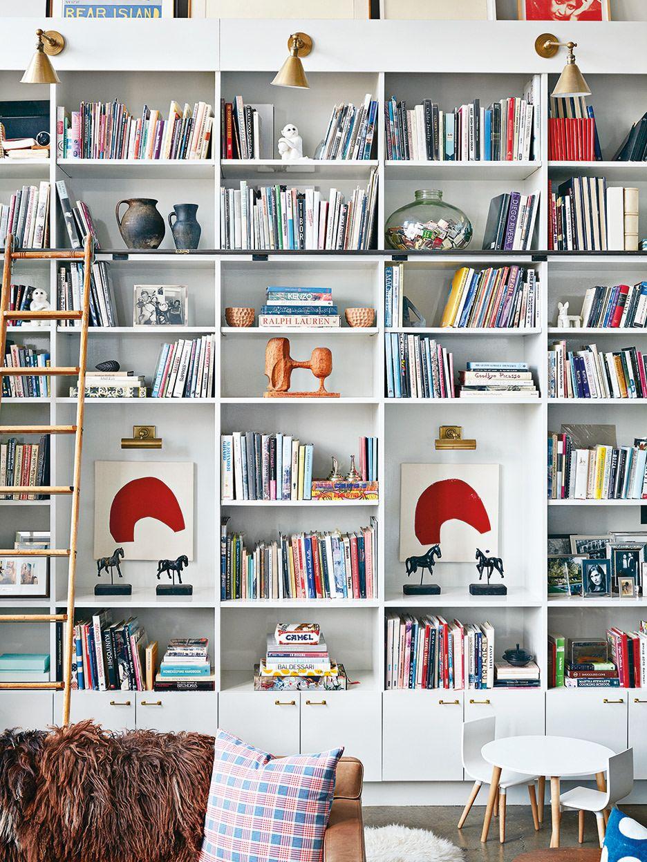 6 Bookshelf Decor Ideas That Make The Perfect Zoom Background Bookshelf Decor Creative Bookshelves Bookcase Decor Living room background for zoom