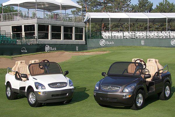golf cars Custom Golf Cart Buick Lucerne Golf Cart Photo